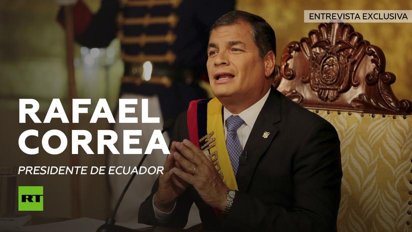 """Correa a RT: """"América Latina ha recuperado su autoestima, la confianza en sí misma"""""""