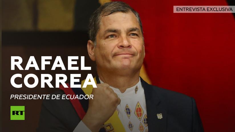 Entrevista con Rafael Correa, presidente de Ecuador