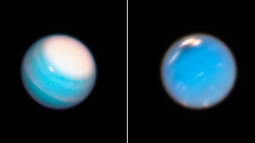 El Hubble detecta otra 'misteriosa mancha oscura' en la atmósfera de Neptuno