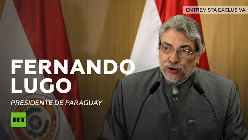 Entrevista con Fernando Lugo, presidente depuesto de Paraguay