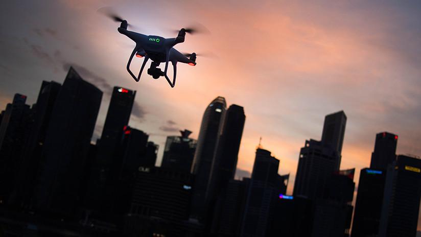 EE.UU. publica la patente de una granada con red para capturar drones