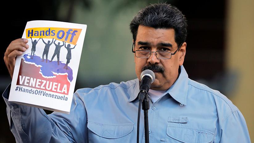 """""""Washington está dispuesto a enviar a sus hijos a morir en una guerra absurda"""": Maduro escribe una carta abierta a EE.UU."""
