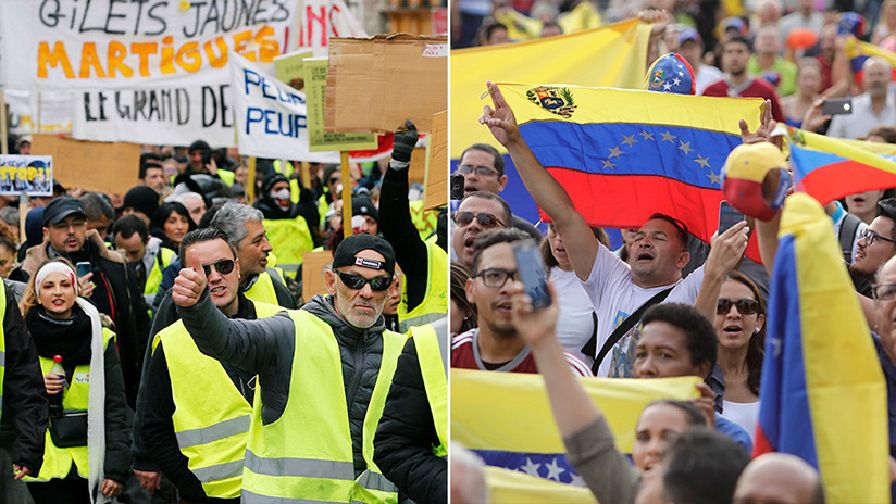 """Periodista británico: """"Repitan conmigo. ¡Maduro es malo, Macron es bueno!"""""""