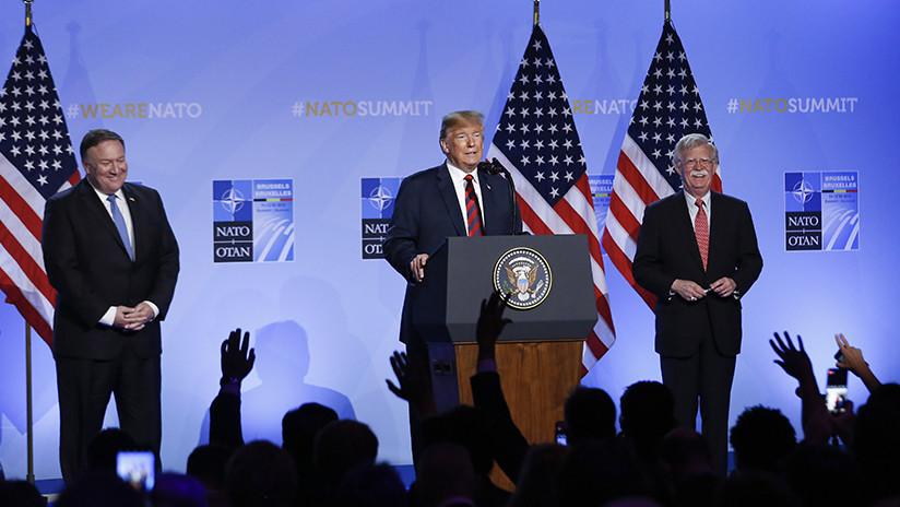 """Líder supremo iraní: """"La muerte a EE.UU. significa la muerte para Trump, Bolton y Pompeo"""""""