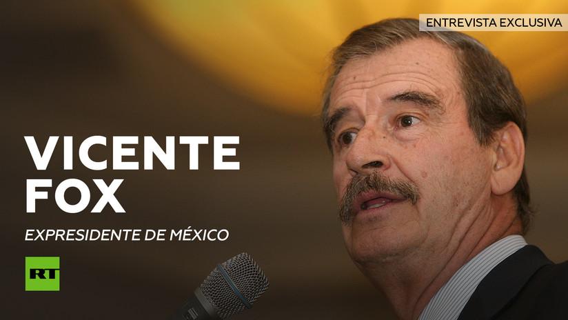 """Vicente Fox a RT: """"EE.UU. consume la droga y México paga con muertos"""""""