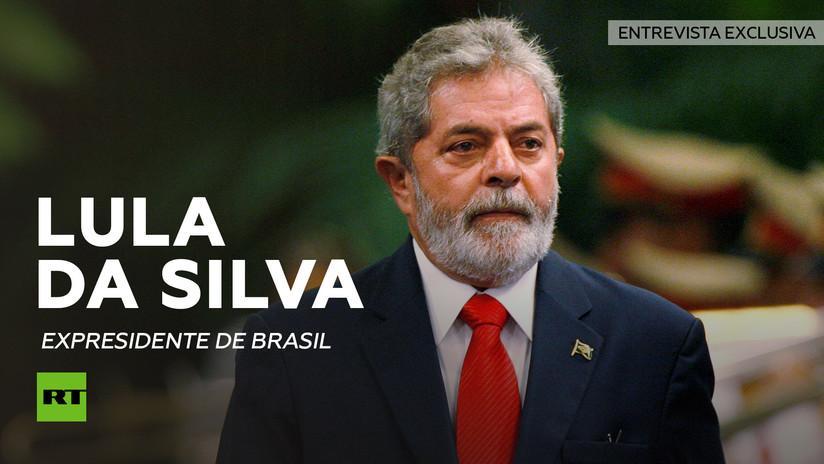 """Lula da Silva a RT: """"No admitiremos que en pleno siglo XXI un Gobierno ilegítimo gobierne Brasil"""""""