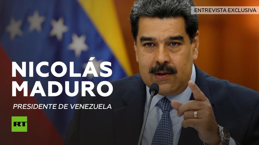 Entrevista con Nicolás Maduro, presidente de Venezuela