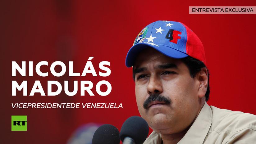 Entrevista con Nicolás Maduro, vicepresidente de Venezuela