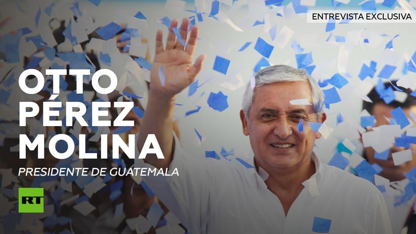 Entrevista con Otto Pérez Molina, presidente de Guatemala