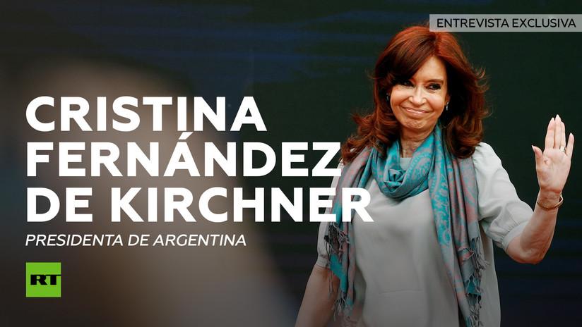 Cristina Fernández concede a RT su histórica primera entrevista sobre asuntos globales en años