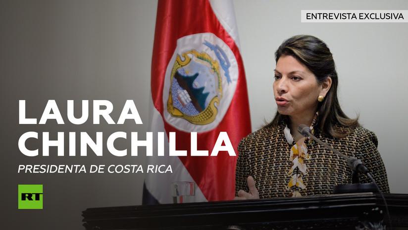 Entrevista con Laura Chinchilla, presidenta de Costa Rica