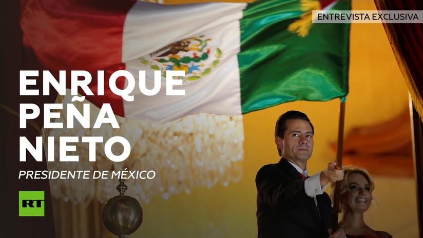 Entrevista con Enrique Peña Nieto, presidente de México