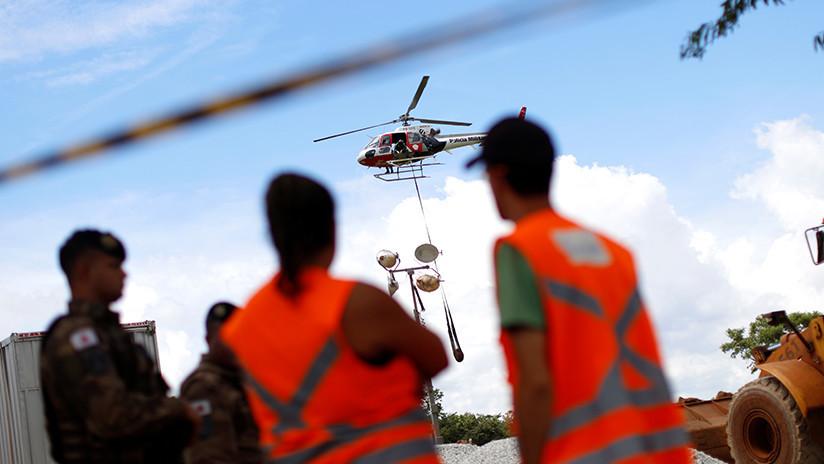 Evacuan a cientos de personas al sureste de Brasil ante el riesgo de derrumbe de una presa