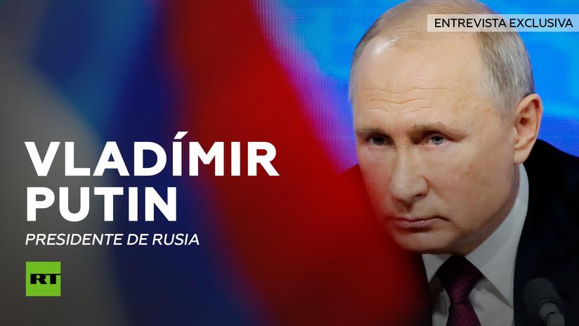 Entrevista con Vladímir Putin, presidente de Rusia