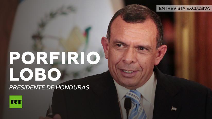 Entrevista con Porfirio Lobo, presidente de Honduras