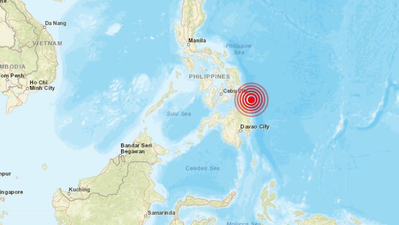 Un sismo de magnitud 5,9 se registra en Filipinas