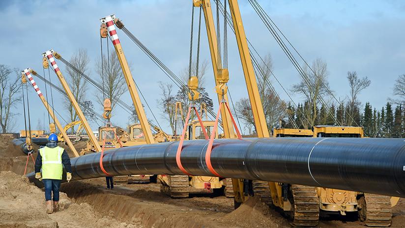 Merkel anuncia que la Unión Europea ha llegado a un acuerdo sobre el gasoducto Nord Stream 2