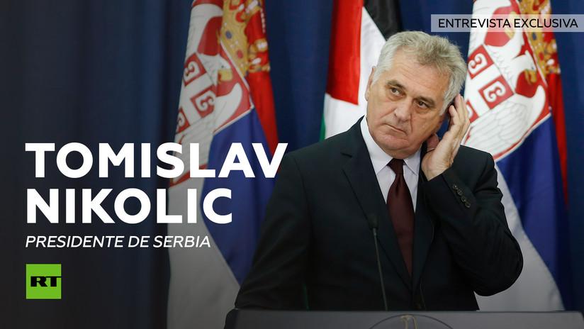 Entrevista con Tomislav Nikolic, presidente de Serbia