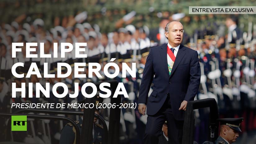 Entrevista con Felipe Calderón, presidente de México (2006-2012)