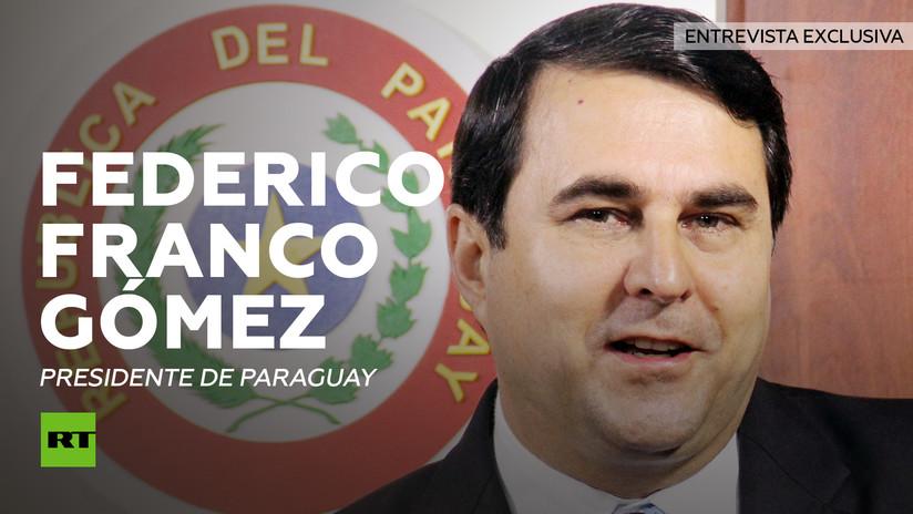 Entrevista con Federico Franco, presidente interino de Paraguay