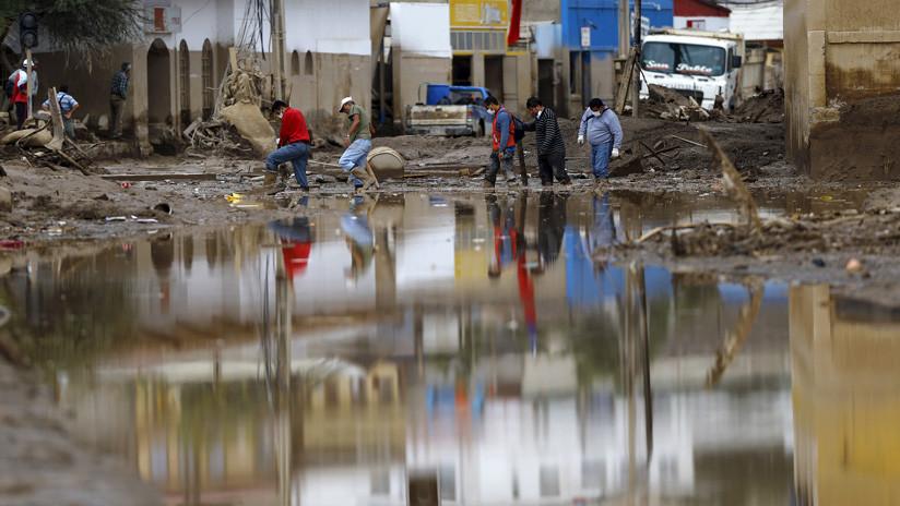 VIDEOS: Seis fallecidos en Chile y casi 100 casas destruidas por las fuertes lluvias en el norte