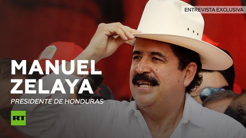 Entrevista con Manuel Zelaya, presidente de Honduras en el exilio