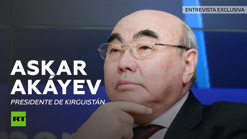 Entrevista con Askar Akáyev, expresidente de Kirguistán