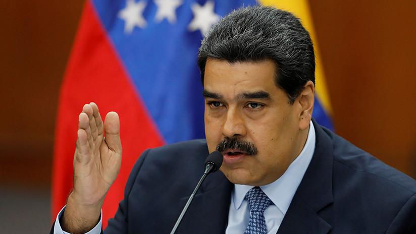 """Maduro: """"La soberanía nacional está tratando de ser vulnerada con un show llamado operación humanitaria"""""""
