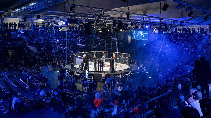 ¿Un 'McGregor-Nurmagomédov' en Alemania? Combate de MMA termina en invasión del octágono (VIDEO)