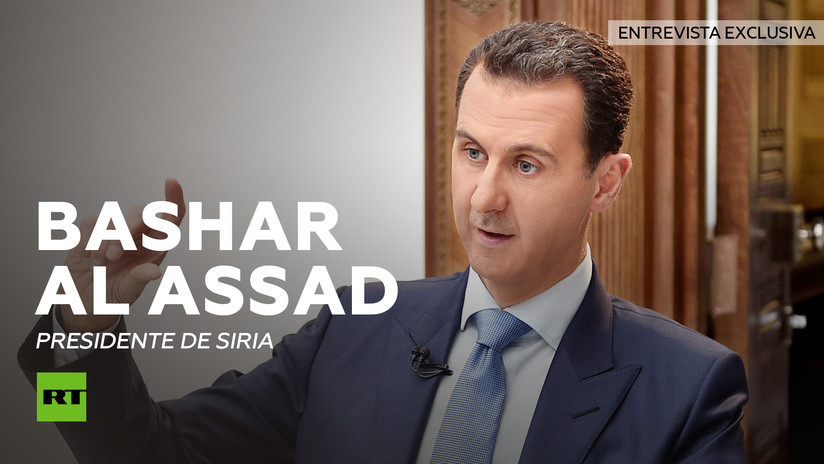 Versión completa de la entrevista a Bashar al Assad, presidente de Siria