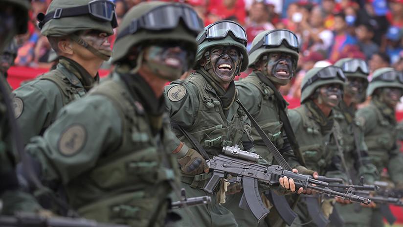 """Instan a los militares venezolanos a """"rebelarse"""" contra el Gobierno y permitir la entrada de """"ayuda humanitaria"""""""
