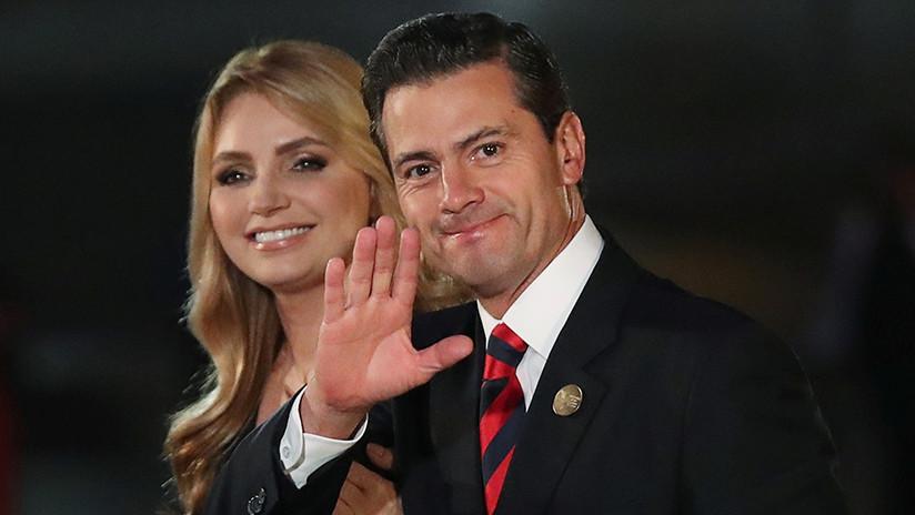 La actriz Angélica Rivera confirma su divorcio con expresidente de México Peña Nieto