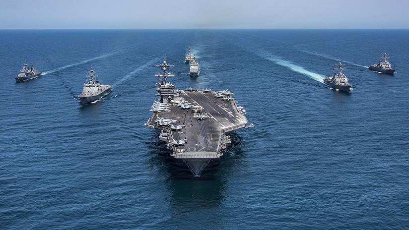 """Jefe de la Marina de EE.UU.: """"Necesitamos actuar primero ante Rusia y China"""""""