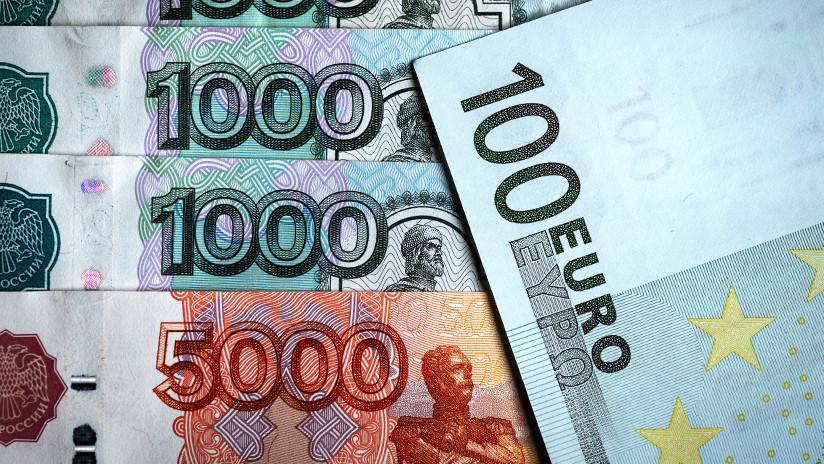 Rusia y la UE barajan usar euros en sus actividades económicas bilaterales