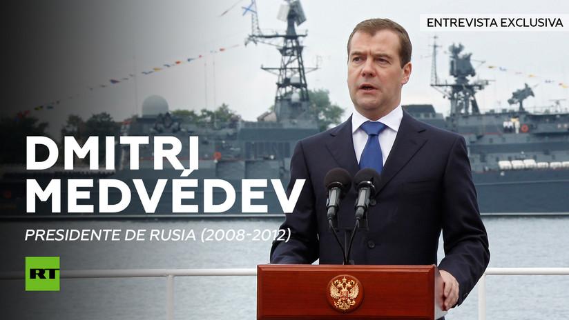Entrevista con Dmitri Medvédev, presidente de Rusia (2008-2012)