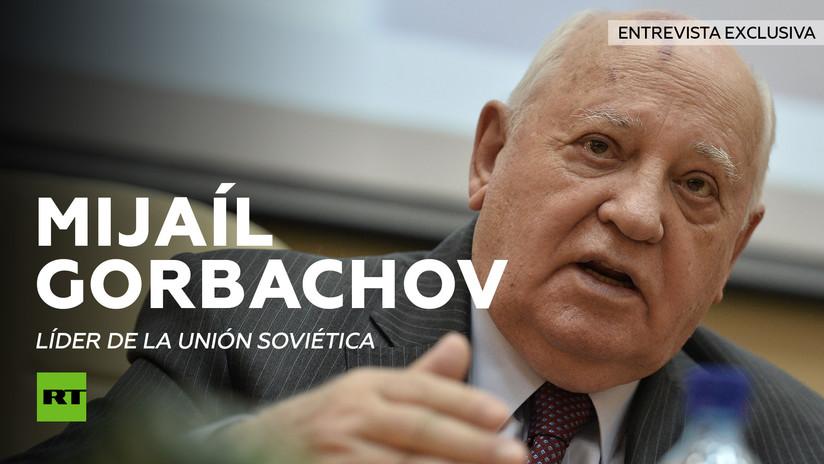 Entrevista con Mijaíl Gorbachov, último líder de la Unión Soviética