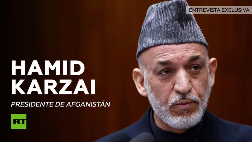 Entrevista con Hamid Karzai, presidente de Afganistán