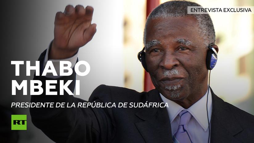 Entrevista con Thabo Mbeki, expresidente de la República de Sudáfrica