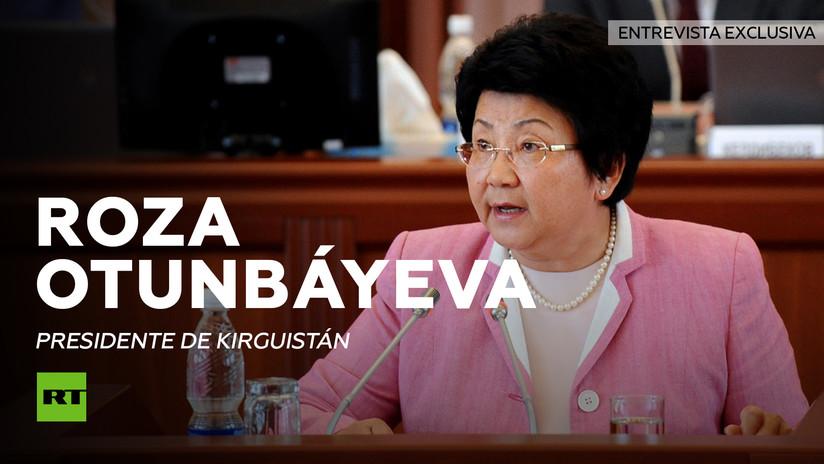 Entrevista con Roza Otunbáyeva, presidenta de Kirguistán (2010-2011)