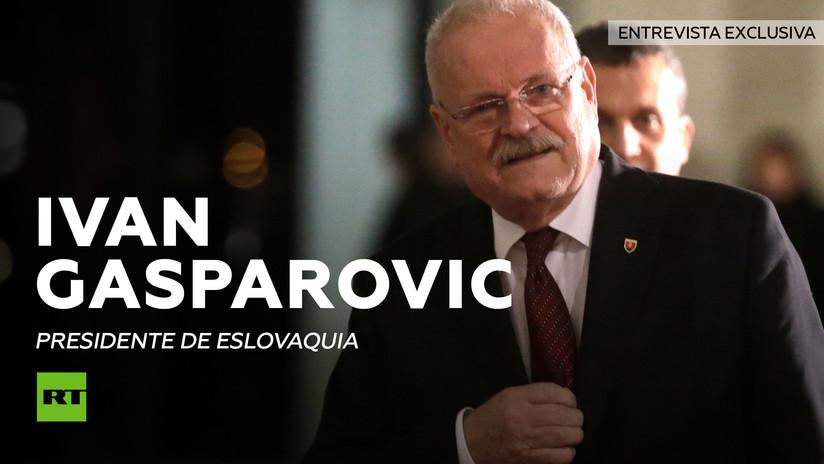 Entrevista con Ivan Gasparovic, presidente de Eslovaquia