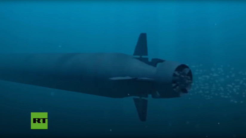 Rusia planea probar este verano su dron subacuático 'del Juicio Final'