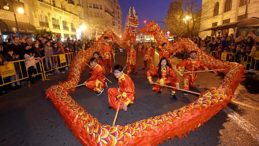 Explosión mundial de color: Así se vivió en todo el planeta el Año Nuevo chino