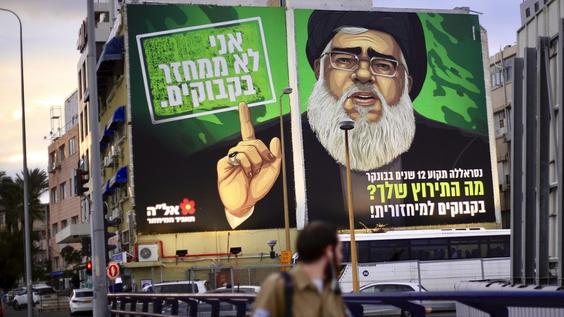 El líder de Hezbolá 'protagoniza' un anuncio de reciclaje en Israel