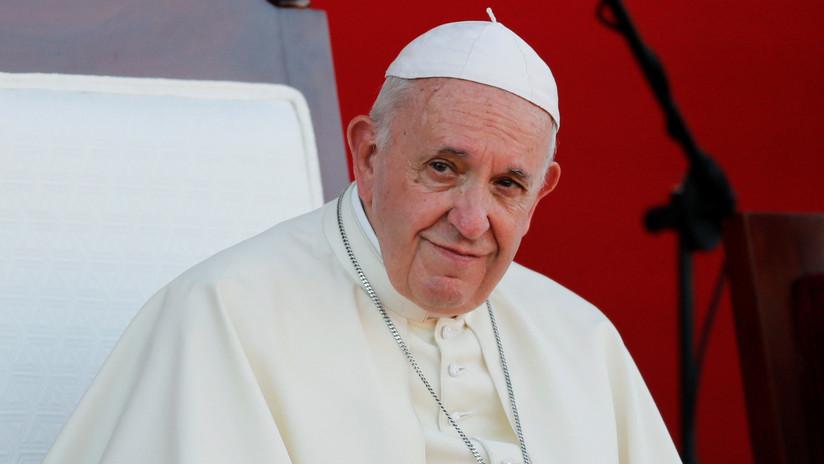 """El papa Francisco insta a los gobiernos a """"abordar con decisión"""" el problema de la esclavitud y la trata de personas"""