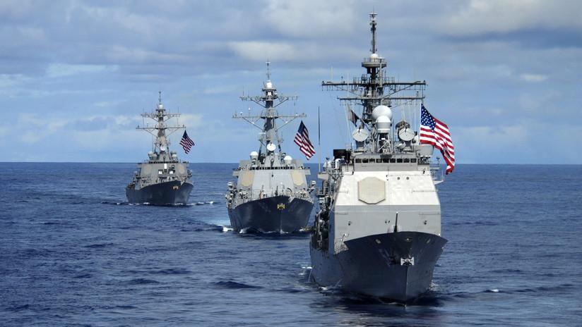 """China acusa a EE.UU. de """"violar"""" su soberanía y """"socavar la paz"""""""