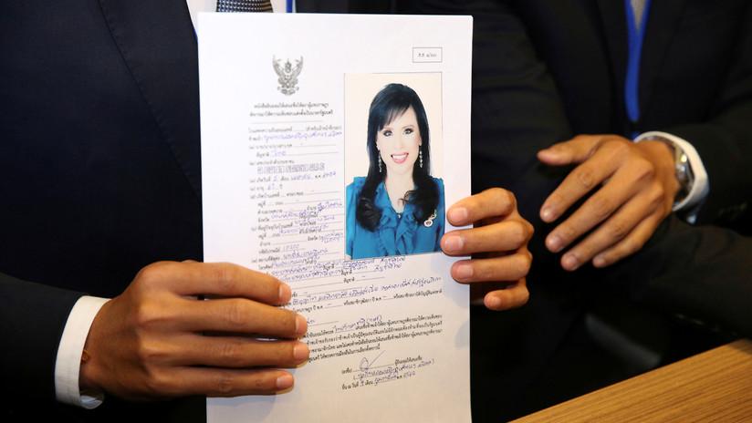 Una princesa de Tailandia no se podrá presentar a las próximas elecciones