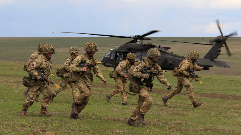 """Secretario de Defensa británico: """"Debemos estar listos para usar el poder duro contra Moscú y Pekín"""""""