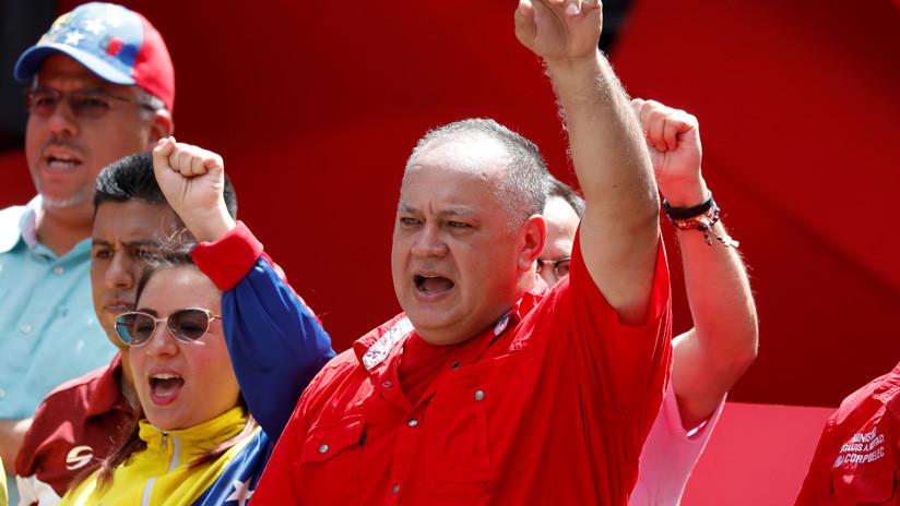 "Diosdado Cabello denuncia que derecha venezolana pretende ""crear un falso positivo"" en la frontera con Colombia (VIDEO)"