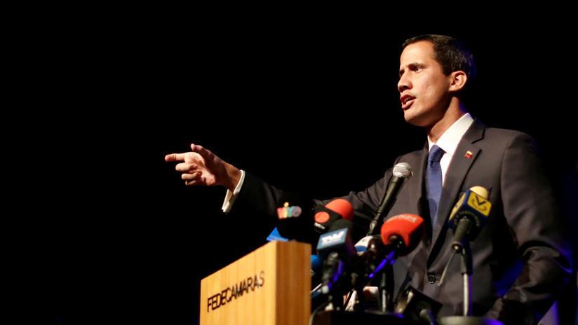 """Guaidó afirma que ya ha entregado el primer cargamento de la  """"ayuda humanitaria"""" internacional"""