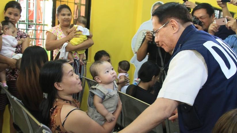 Un brote de sarampión causa decenas de muertes en Filipinas